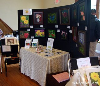 Maria Williams's fine art exhibit