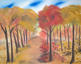 A Breeze of Fall  by Maria Williams