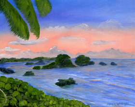 Caribbean Sky  by Maria Williams