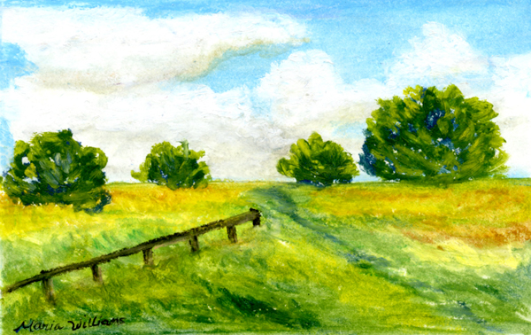Green Pastures by Maria Williams