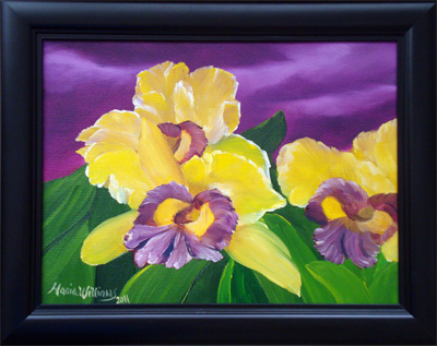 Iris Flowers by Maria Williams