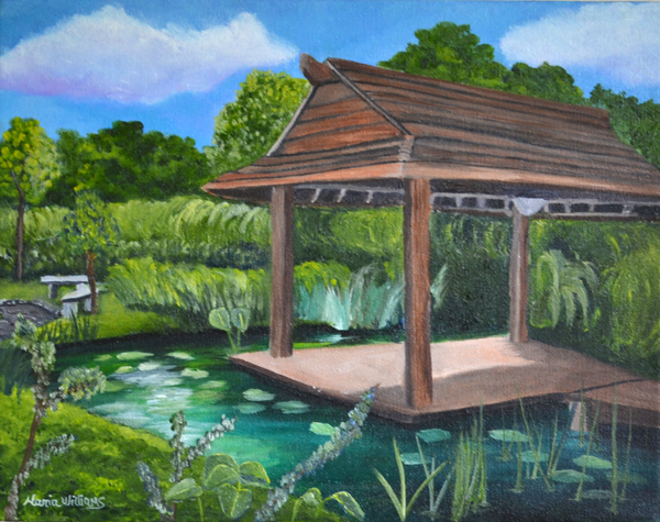Japanese Garden  by Maria Williams