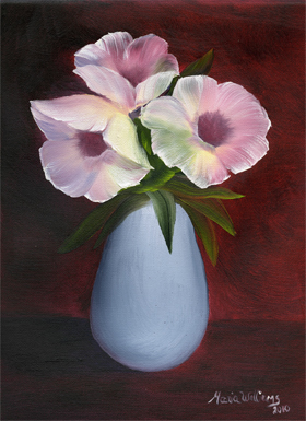 Morning Glories by Maria Williams