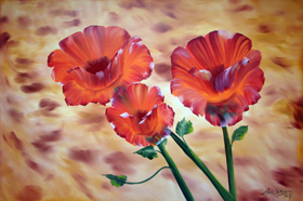 Poppies by Maria Williams