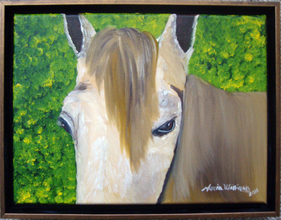 Portrait of a Curious Horseby Maria Williams