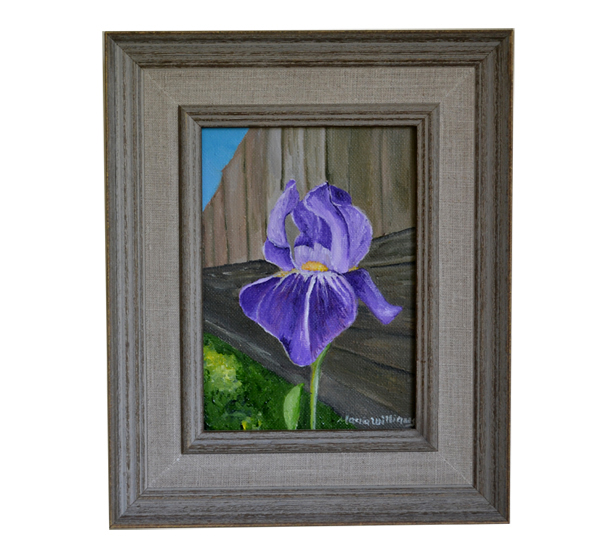 Purple Iris by Maria Williams