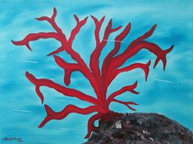 Red Coral by Maria Williams