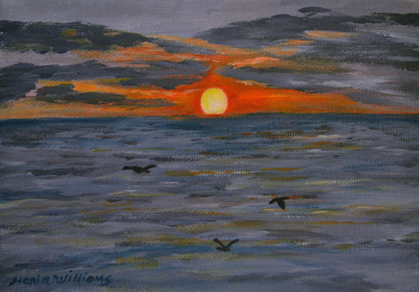 Rising Sun  by Maria Williams