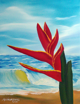 Tropical Paradise by Maria Williams