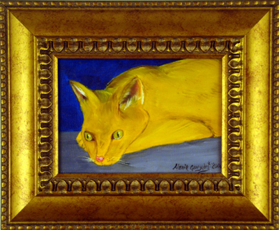 Yellow Catby Maria Williams